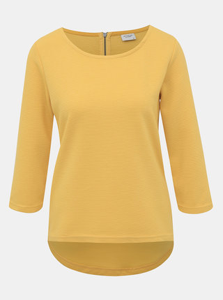 Žltý rebrovaný top Jacqueline de Yong Saga