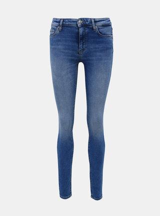 Modré skinny fit džíny ONLY Carmen