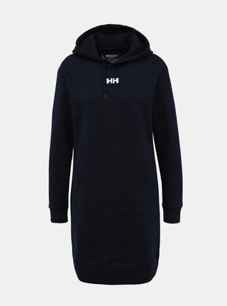 Tmavomodré mikinové šaty HELLY HANSEN Active