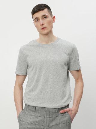 Šedé pánské basic tričko ZOOT David