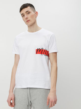 Biele pánske tričko ZOOT Original MILU JUTĚ