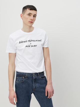 Bílé pánské tričko ZOOT Original Žádná přítelkyně
