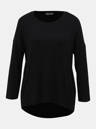 Černé basic tričko Noisy May Henley