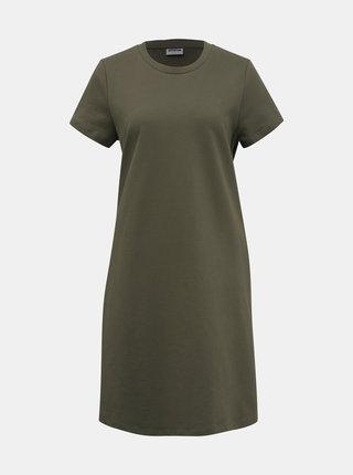 Kaki mikinové šaty Noisy May Luni