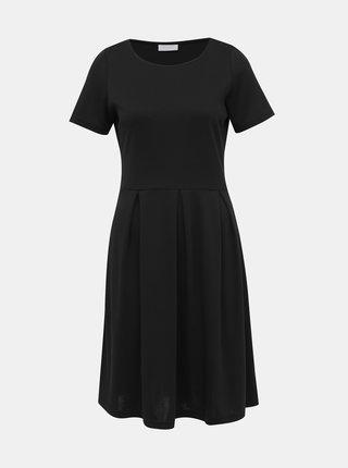 Čierne basic šaty VILA Tinny