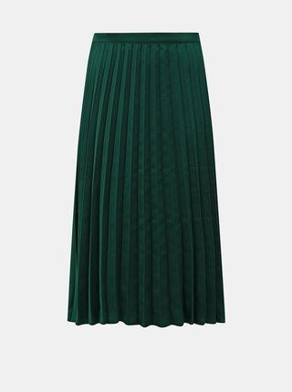 Zelená plisovaná midi sukně ZOOT Kate