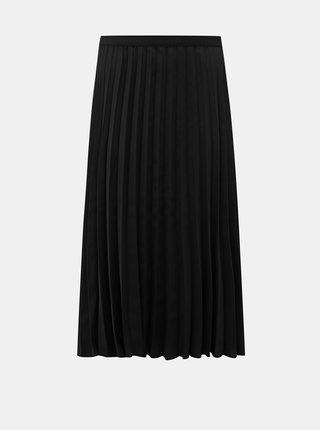 Čierna plisovaná midi sukňa ZOOT Kate