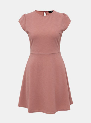 Rúžové trblietavé šaty TALLY WEiJL Jan