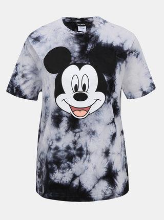 Šedé tričko s potlačou TALLY WEiJL Disney Mickey Mouse