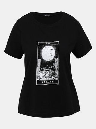 Černé tričko s potiskem TALLY WEiJL Teka