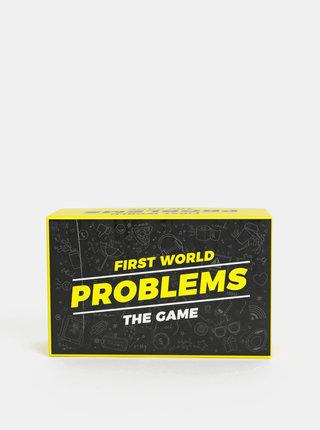 Karetní hra První světové problémy v anglickém jazyce Gift Republic