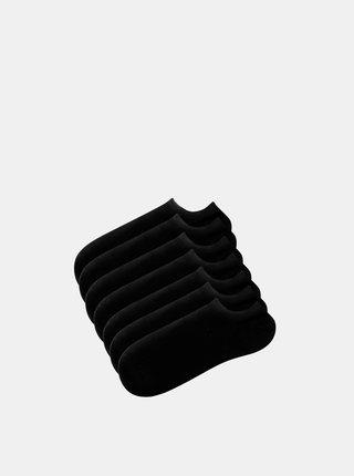 Sada sedmich párov čiernych ponožiek TALLY WEiJL Blacky