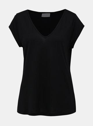 Čierne basic tričko VILA Coop