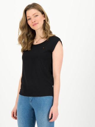 Černé tričko s výšivkou Blutsgeschwister Sailor love