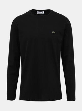 Čierne pánske tričko Lacoste