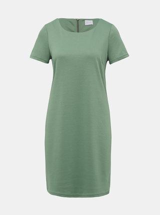 Světle zelené šaty VILA Tinny