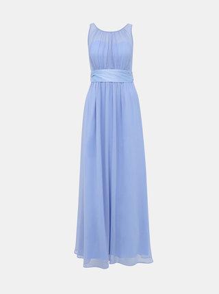 Modré maxišaty Dorothy Perkins