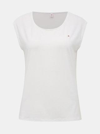 Bílé tričko s výšivkou Blutsgeschwister Sailor love