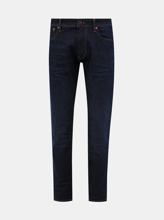 Tmavomodré pánske tapered fit rifle Pepe Jeans Stanley