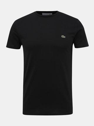 Černé pánské basic tričko Lacoste