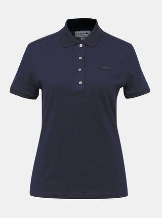 Tmavě modré dámské polo tričko Lacoste