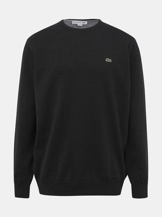 Čierny pánsky basic sveter Lacoste