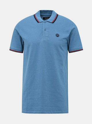 Modré polo tričko Jack & Jones Noah