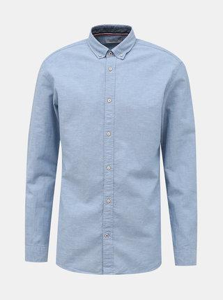 Světle modrá košile s příměsí lnu Jack & Jones Summer