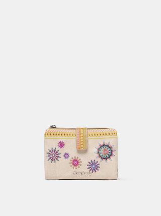Béžová peňaženka Desigual