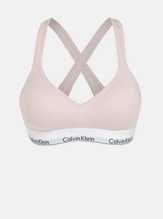 Svetloružová športová podprsenka Calvin Klein Underwear