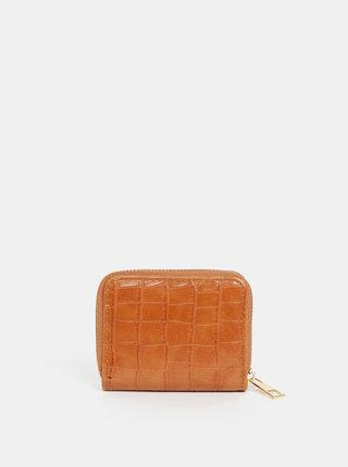 Hnedá dámska peňaženka s krokodýlím vzorom Haily´s Sofya