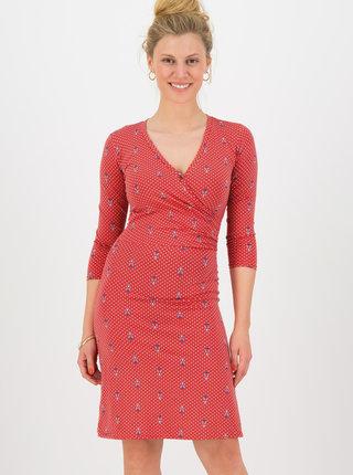Červené bodkované šaty Blutsgeschwister Tippi dots