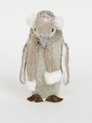 Vánoční dekorace ve tvaru tučňáka SIFCON