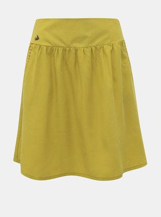 Žlto-zelená sukňa Blutsgeschwister Casual