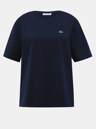Tmavomodré dámske tričko Lacoste