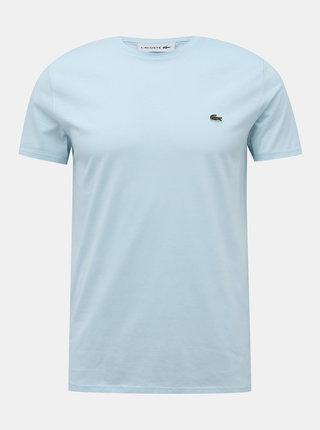 Svetlomodré pánke basic tričko Lacoste