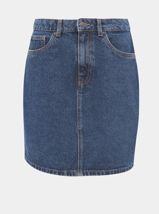 Modrá džínová sukně VERO MODA Kate
