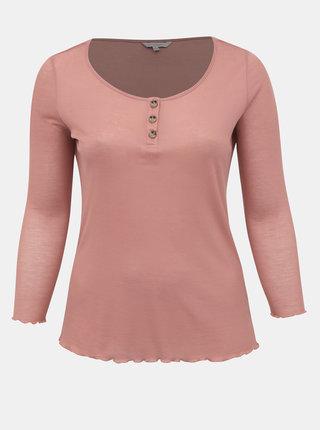 Růžové tričko ONLY CARMAKOMA Soft