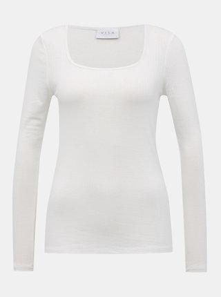 Biele basic tričko VILA Suloma