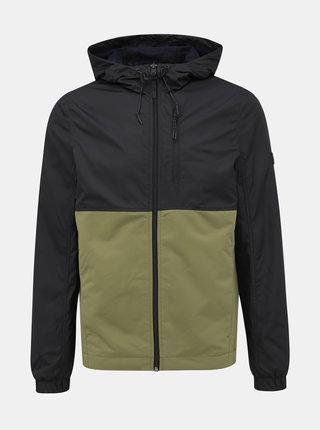 Zeleno-černá pánská bunda Tom Tailor Denim