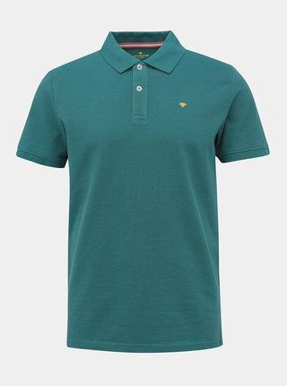 Zelené pánské basic polo tričko Tom Tailor