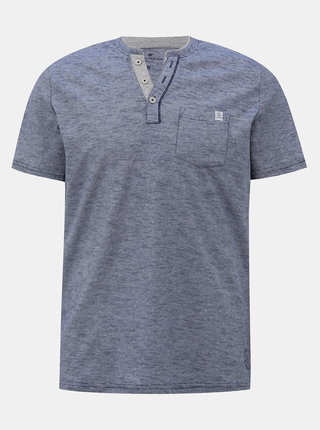 Modro-šedé pánské tričko Tom Tailor