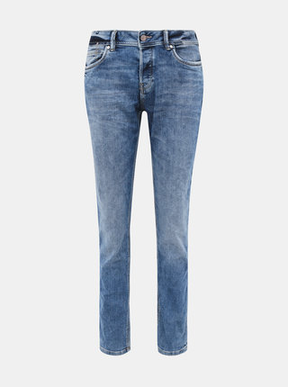 Modré dámske anti fit rifle Tom Tailor Denim