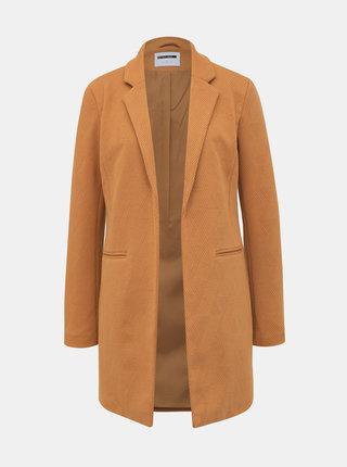 Svetlohnedý ľahký kabát Noisy May Coatigan