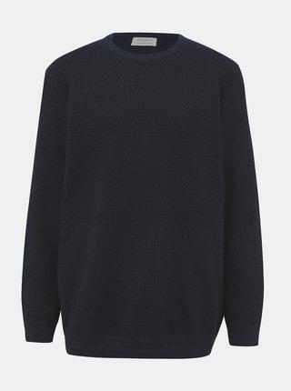 Tmavomodrý sveter Selected Homme Holiver