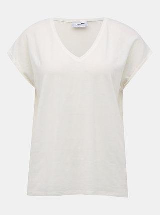 Biele basic tričko VERO MODA AWARE Ava