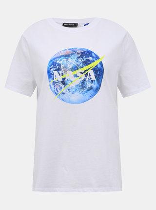 Bílé tričko TALLY WEiJL Nasa