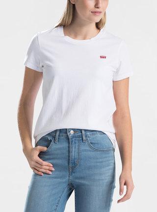 Tricou alb de dama cu petic Levi's®
