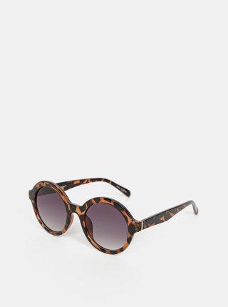 Hnedé slnečmé okuliare VERO MODA Alma