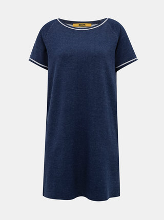 Tmavě modré mikinové basic šaty ZOOT Baseline Millie